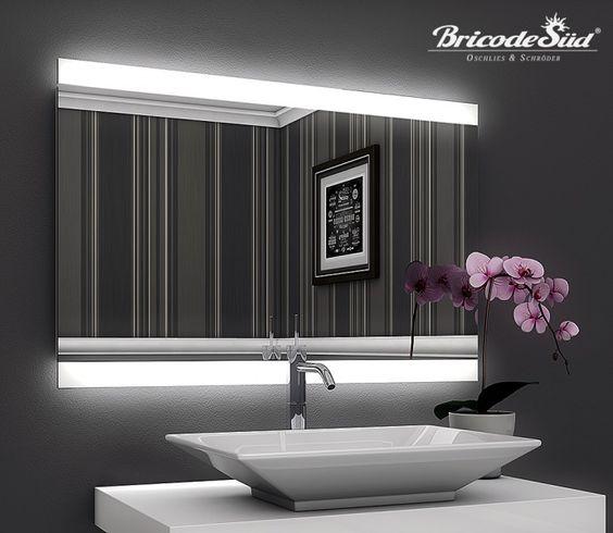 Badezimmerspiegel Persis (A) mit LED Beleuchtung