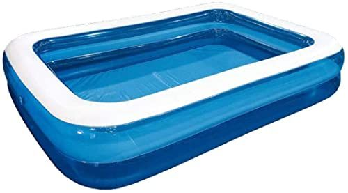 New Kxry Inflatable Pool Thickened Above Ground Family Interaction Summer Swimming Pools Large Kids Adults Garden Backyard Outdoor Online Shopping Aristat In 2020 Rectangular Pool Family Inflatable Pool Inflatable Pool