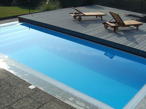 begehbare Terrassen Schwimmbadabdeckung u2026 Garten Pinterest - schwimmbad selber bauen