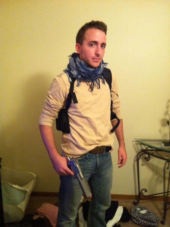 nathan drake from uncharted 3 cosplay costume drake