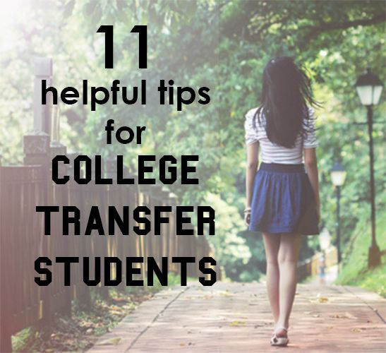 Tips for transferring from a community college to a 4-year university?