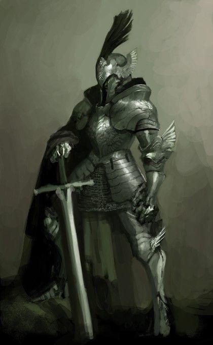 Fantasy Medieval Knight Armors, I love and Kni...