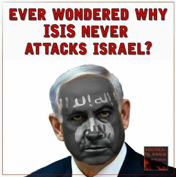 EVER WONDERED WHY ISIS NEVER ATTACKED ISRAEL ?