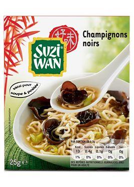 Suzi Wan Champignons noirs