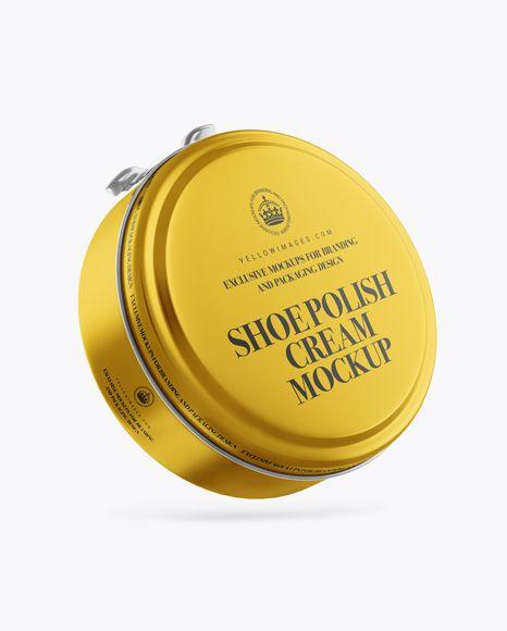 Download Metallic Shoe Polish Cream Jar Mockup In Jar Mockups On Yellow Images Object Mockups Mockup Free Psd Mockup Psd Mockup PSD Mockup Templates