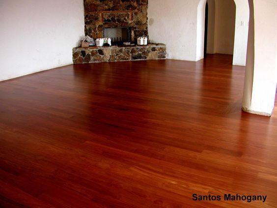 Santos Mahogany Floors Are Timeless A Blue House Ideas