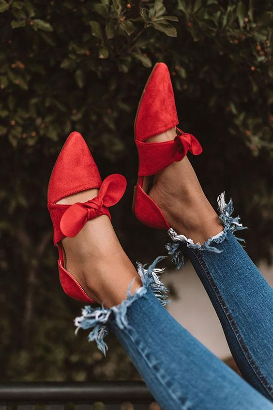 48 Flat Shoes For Ending Your Winter shoes womenshoes footwear shoestrends