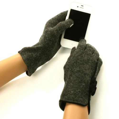 New Ladies Winter Fancy Cute Double Bows Dressy Wool Magic Touch Screen Thumb Index Technology Glove Outdoor Indoors Gloves with 2 Tone Abstract Design Magic Touch Glove for Tablet PC, Ipods, Ipads, Iphones, Laptops, Touchscreens, PDA and so much more New Technology, it's amazing! Keep your glove on and adjust your electronic devices. Warm and Comfortable Super soft & warm. New and improved quality and fit, will snug your hands nicely...