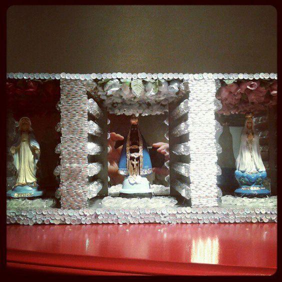 Nossa Senhora das Graças, Nossa Senhora Aparecida e Nossa Senhora de Fátima