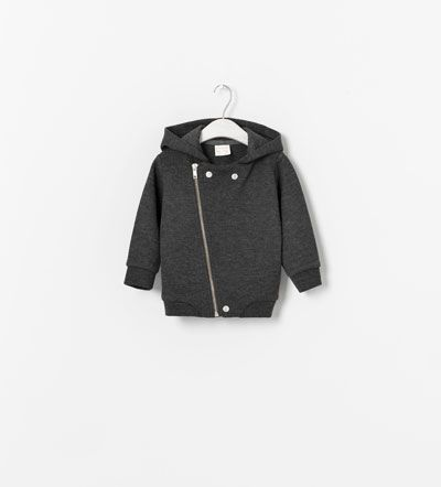 JACKET WITH HOOD - Coats - Baby boy (3 - 36 months) - KIDS | ZARA United States