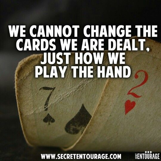 Fact! It's better to be proactive with your dealt cards, than reactive. Either way, legalshield & IDShield are here for you. More at www.legalshield.com/hub/jasonndixon