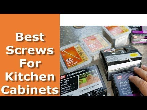 Best Screws For Installing Kitchen Cabinets Grk Which To Avoid Youtube Kitchencabinetsyou Installing Kitchen Cabinets Kitchen Cabinets Installing Cabinets