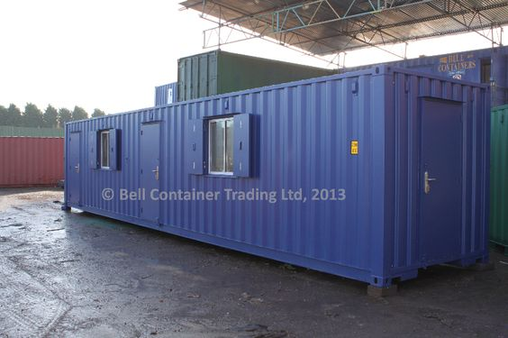 shipping container changing room