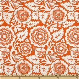 Heirloom Laminated Cotton Blockprint Blossom Amber, $15.98/yd