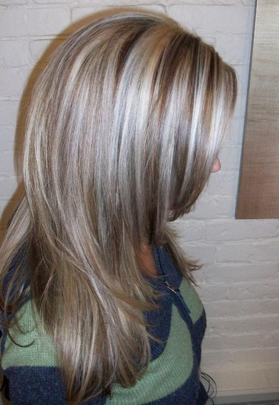 Grey hair with highlights and lowlights hair color inspirations how to brighten dull graying hair grey hair highlightslowlights pmusecretfo Gallery