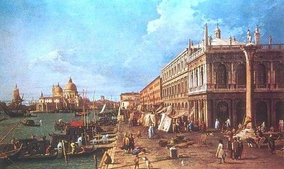 This Day in History: Mar 25, 421: Venice is founded at twelve o'clock noon http://dingeengoete.blogspot.com/ http://www.iicedimburgo.esteri.it/IIC_Edimburgo/webform/..%5C..%5CIICManager%5CUpload%5CIMG%5C%5CEdimburgo%5Ccanaletto4.jpg