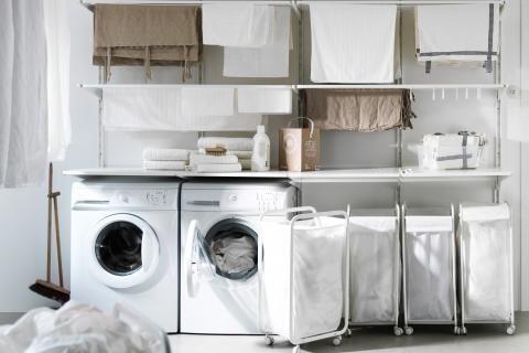 Hauswirtschaftsraum Mobel Und Ideen Zum Einrichten Schoner Wohnen Mit Bildern Ikea Waschkuche Wasche Sortieren Hauswirtschaftsraum