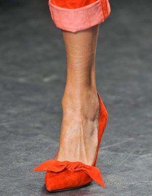 Tangerine Heels... #2012SpringFashionTrends