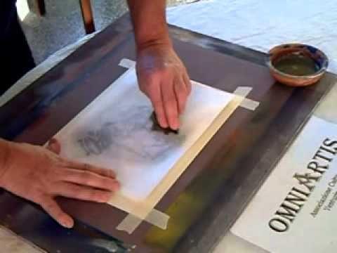 Trasferimento immagini su legno vetro o plastica o qualsiasi superficie liscia - YouTube