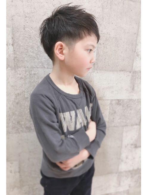 長野市アムールマヤ男の子キッズカット ショートヘア L028644989
