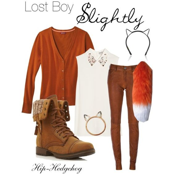 Lost Boy - Slightly - disney Peter Pan outfit