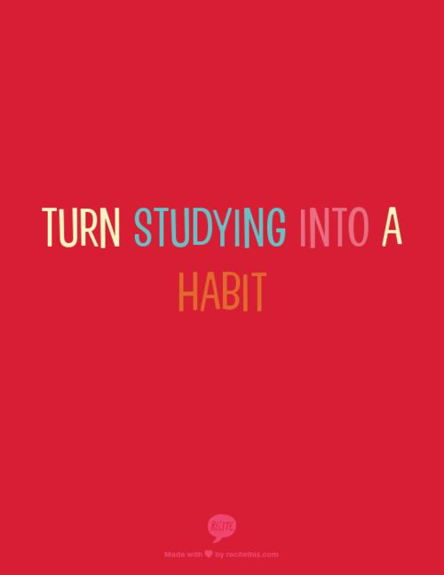 studyspo: Turn studying into a habit
