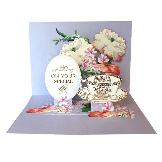 HSN August 30 2016 Sneak Peek 4 | Anna's Blog - Pop Up Dies turn any card into a pop-up card; get four different shapes of pop up with this set: a Cake, Bars, Bunting and Ribbon Banner