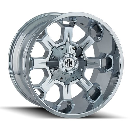 Mayhem Combat 8105c Lifted Truck Wheels Chrome Wheels Truck Wheels