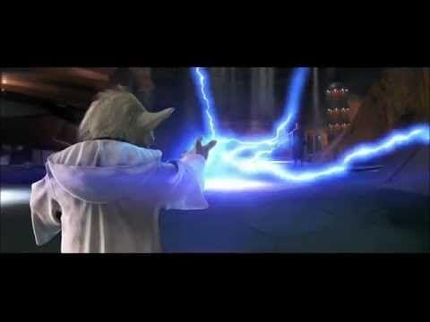 Master Yoda Vs. Count Dooku - Star Wars: Attack of the Clones 2002