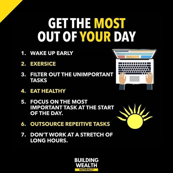 Be Successful Be Wealthy Create And Pursue Focused Goals Take Decisive And Immediate Action Focus On Being Productive Not Being Busy Work Outside Of C In 2020