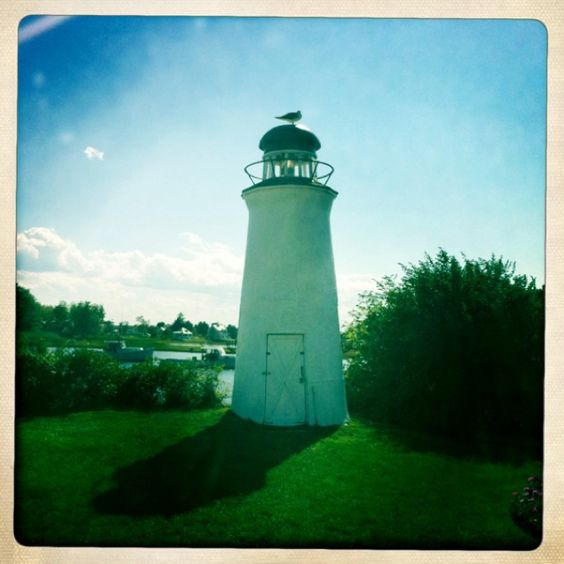 Lighthouse at the Nonantum Resort in Kennebunkport, ME