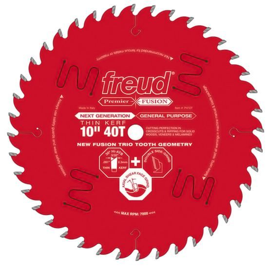 Freud 10 Circular Saw Blades Table Saw Blades Diy Table Saw