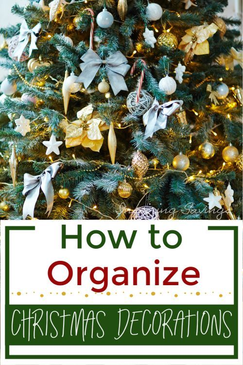5 Ways To Store Christmas Lights And Ornaments Quick Easy Tips Christmas Ornament Storage Box Christmas Tree Storage Bag Christmas Tree Storage