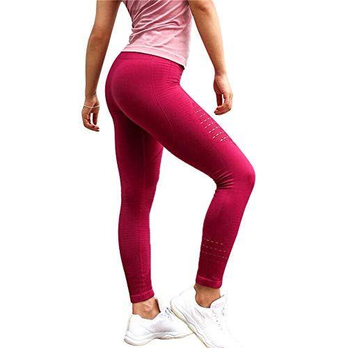 Abracing Pantalones De Cintura Alta Huecos Anti Celulitis De Yoga Para Mujer Ropa Deportiva Mujer Pantalones Cintura Alta Pantalones De Talle Alto