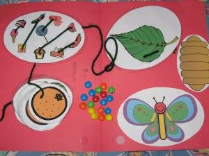 Nice fine motor lacing activity Very Hungry Caterpillar games 007