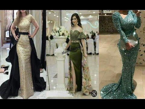 فساتين سهرة للمناسبات والأفراح أناقة وجمال Youtube Dresses Prom Dresses Formal Dresses Long