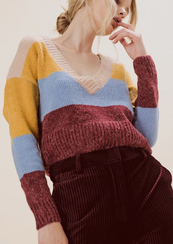 32 Color Pullover You Should Own outfit fashion casualoutfit fashiontrends