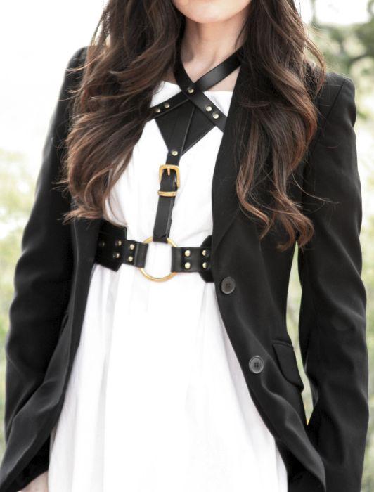 leather harness / Fleet Ilya | Runway Couture | Pinterest ...