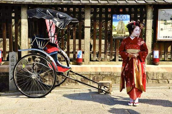 Une geisha pose dans le vieux quartier de Kyoto - GEO communauté photo