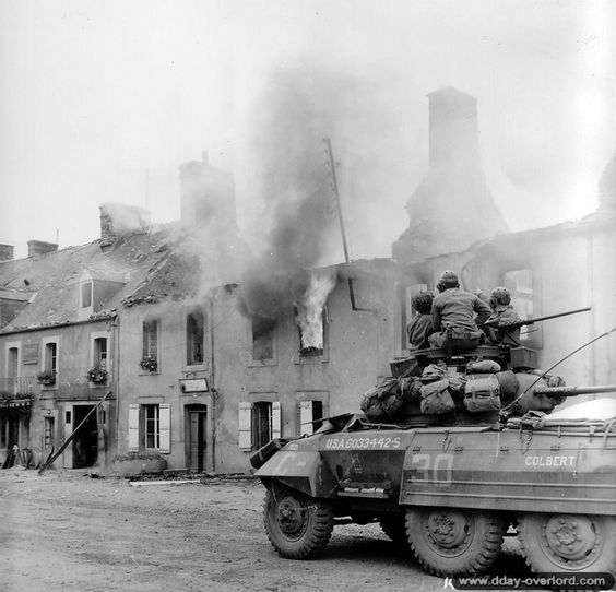 d-day reconnaissance photos