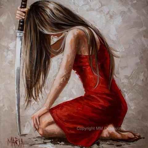 M18028 Here I bow   Prophetic art, Jesus art, Art painting