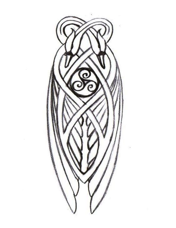 knotwork swan detail for celtic harp art design and typography pinterest my children. Black Bedroom Furniture Sets. Home Design Ideas