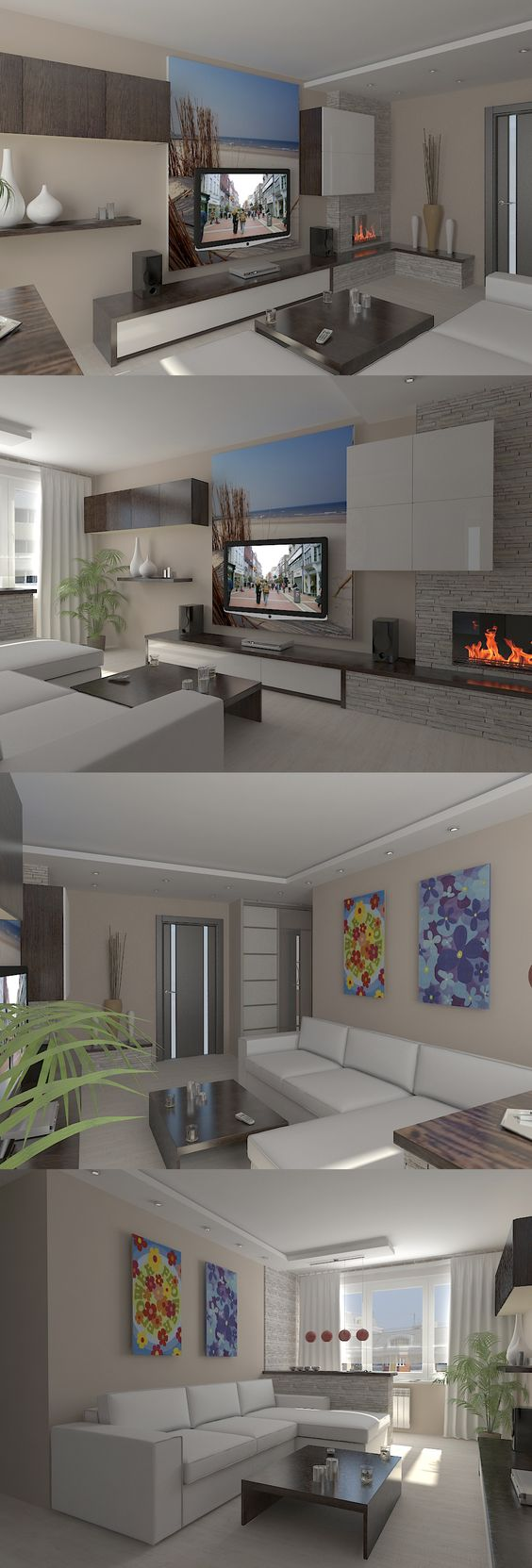 Modern Living Room Lcd Tv Stand Wooden Design Fa18b: My Style & Design Ideas