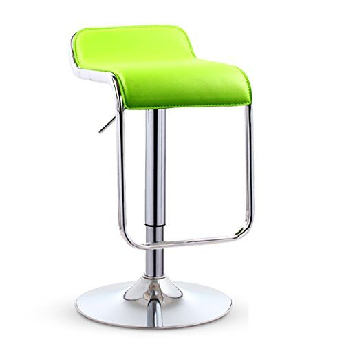 Chair Bar Chair Breakfast Stool Lounge Chair Advanced Pu Leather Plating Height Rotation Size Bottom 38 5cm Modern Bar Stools Breakfast Stools Tall Stools