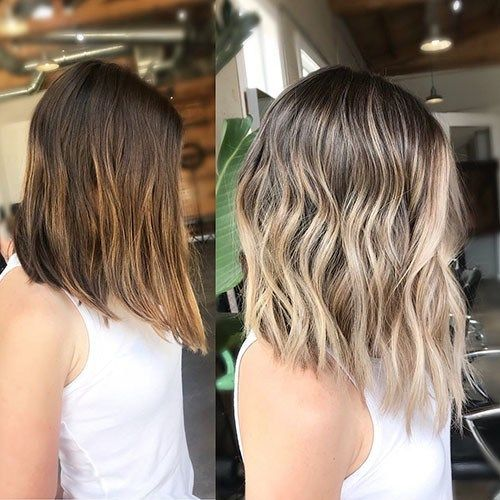 Beautiful Brown To Blonde Ombre Short Hair Blonde Ombre Short Hair Short Hair Balayage Short Ombre Hair