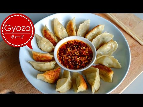 Resep Gyoza Ayam Dan Cara Membuat Kulit Gyoza Dimsum Pangsit Youtube Pangsit Resep Masakan Jepang Resep Makanan