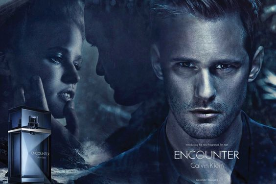 Calvin Klein Crush edt, Alexander Skarsgård advertisement