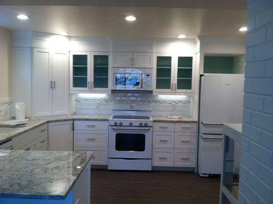 custom kitchen, Shaker style doors