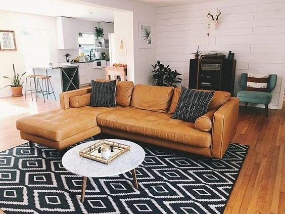 Phải chú ý điều này khi đặt sofa da góc trong nhà
