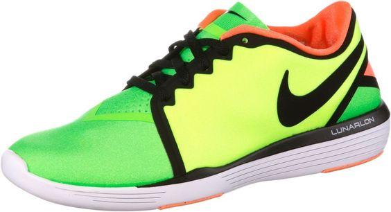 #Nike #Lunar #Sculpt #Fitnessschuhe #Damen #neongrün/grün -